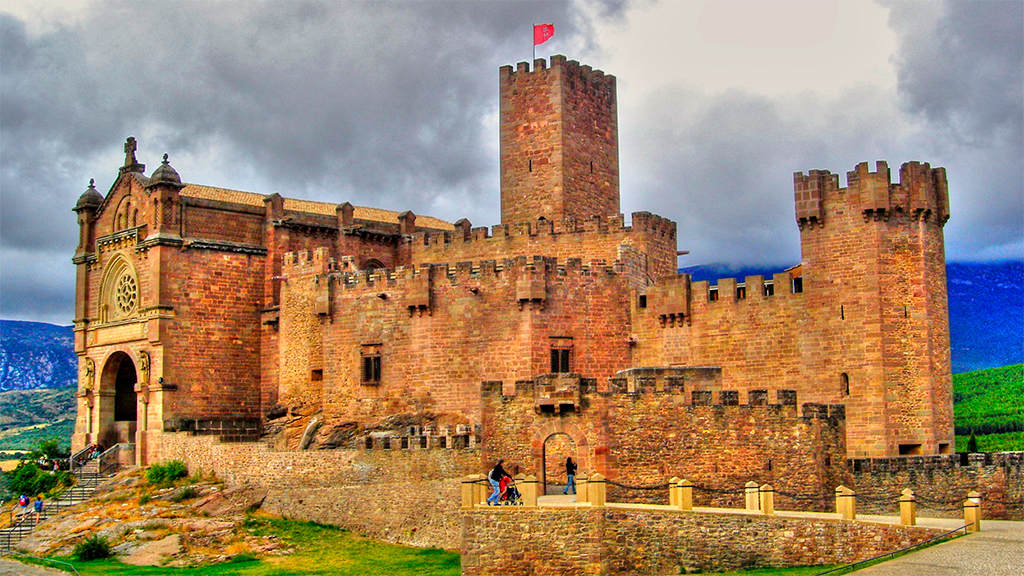 Castle Of Javier Erreka Incoming Navarra